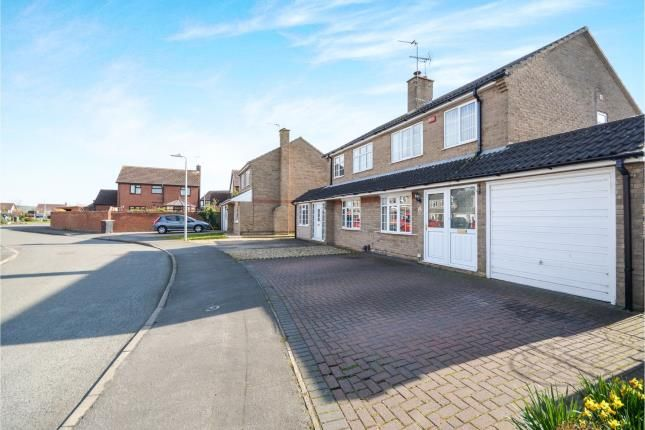 Front of Burghley Park Close, North Hykeham, Lincoln, Lincolnshire LN6