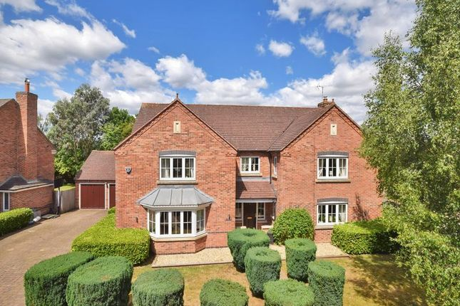 Thumbnail Detached house for sale in Guild Close, Cropston, Leicester