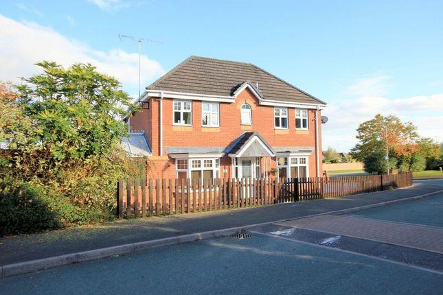 Thumbnail Detached house for sale in Arlington Way, Longton, Stoke-On-Trent