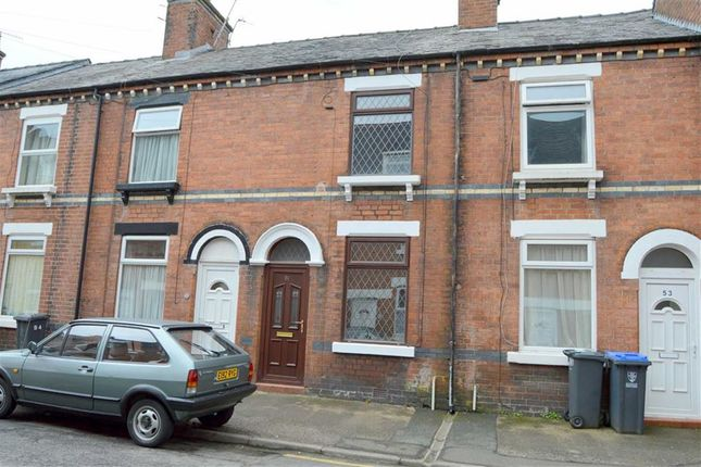 Thumbnail Terraced house to rent in Chorley Street, Leek