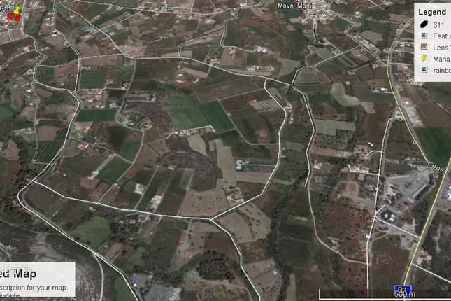 Thumbnail Land for sale in Pyrgos, Limassol, Cyprus