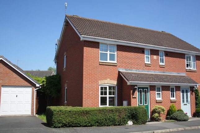 Thumbnail Semi-detached house to rent in Wheatcroft Close, Brockhill, Redditch