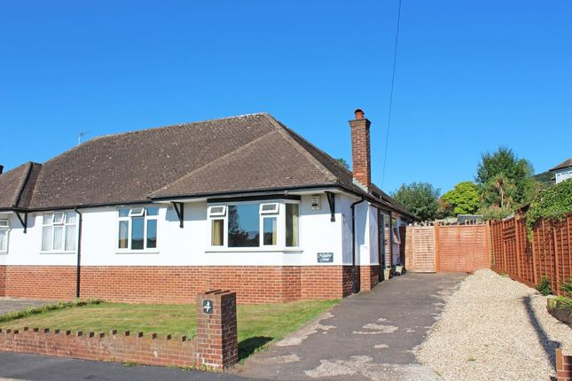 Thumbnail Bungalow for sale in Newlands Close, Sidmouth