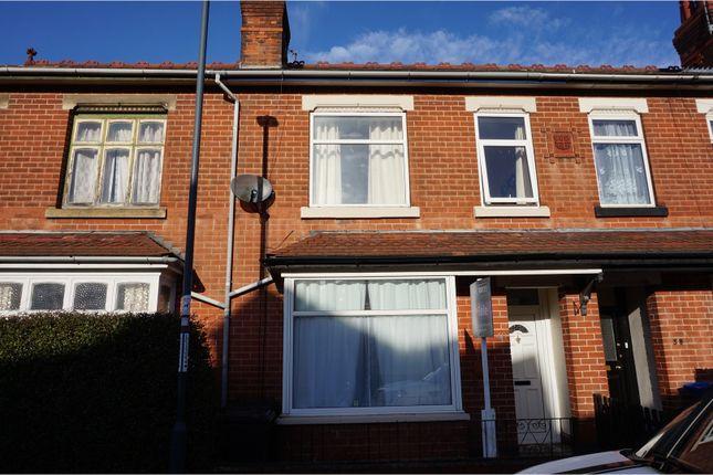 Thumbnail Terraced house for sale in Severn Street, Alvaston