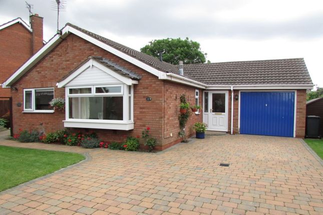 Thumbnail Bungalow for sale in Magdalen Close, Scunthorpe