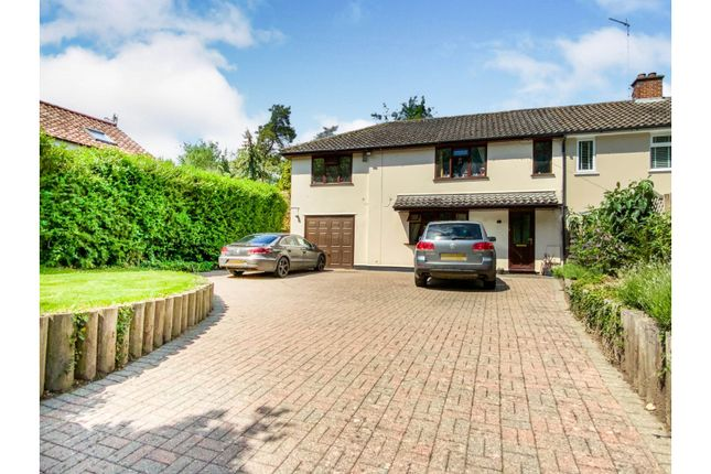 Thumbnail Semi-detached house for sale in Hollow Road, Bury St. Edmunds