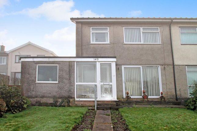 Thumbnail Semi-detached house for sale in Golf Road, New Inn, Pontypool, Torfaen