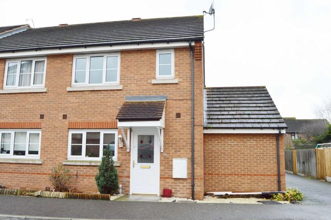 3 bed end terrace house to rent in Nightingale Crescent, Harold Wood, Romford