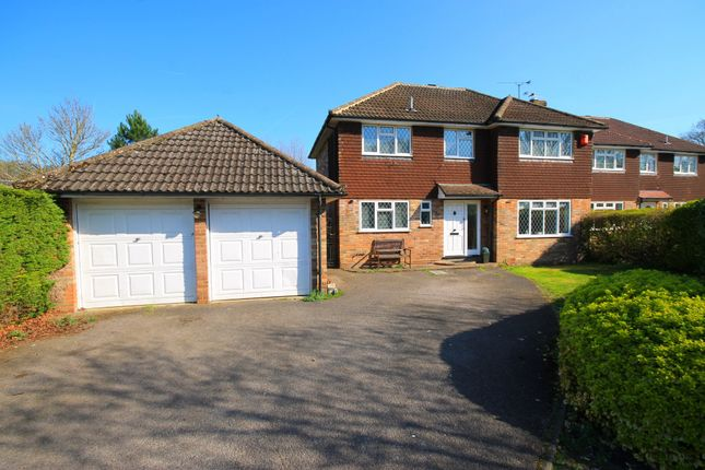 Thumbnail Detached house for sale in Heenan Close, Frimley Green, Camberley