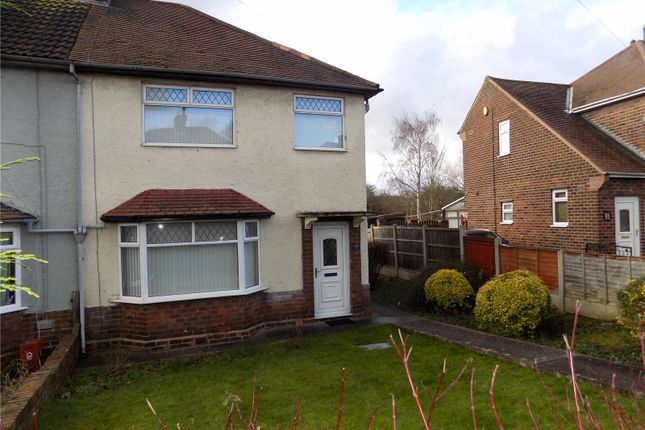 Thumbnail Semi-detached house for sale in Brookvale Road, Langley Mill, Nottingham, Derbyshire