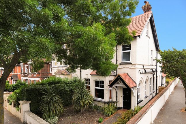 Thumbnail Semi-detached house for sale in Radnor Park Road, Folkestone