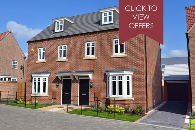 """Thumbnail Semi-detached house for sale in """"Kennett"""" at Allendale Road, Loughborough"""