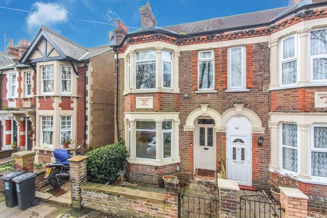 Thumbnail Semi-detached house to rent in Sussex Road, Watford
