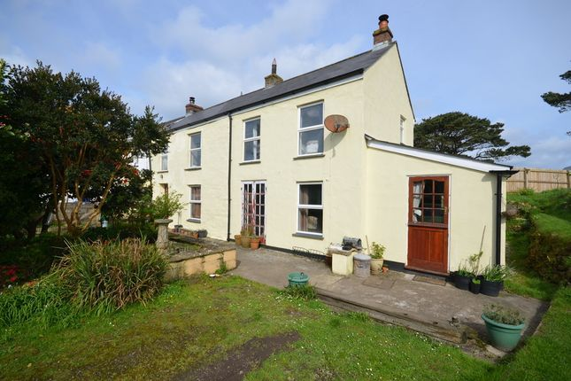 Thumbnail End terrace house for sale in Penwinnick Road, St. Agnes, Cornwall