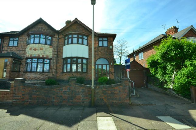 Thumbnail Semi-detached house for sale in Homeway Road, Leicester