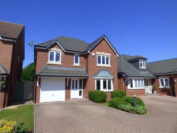 Thumbnail Detached house for sale in Stanegate, Two Gates, Tamworth, Staffordshire