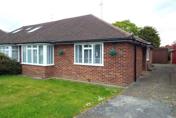 Thumbnail Bungalow to rent in Lilian Crescent, Hutton, Brentwood