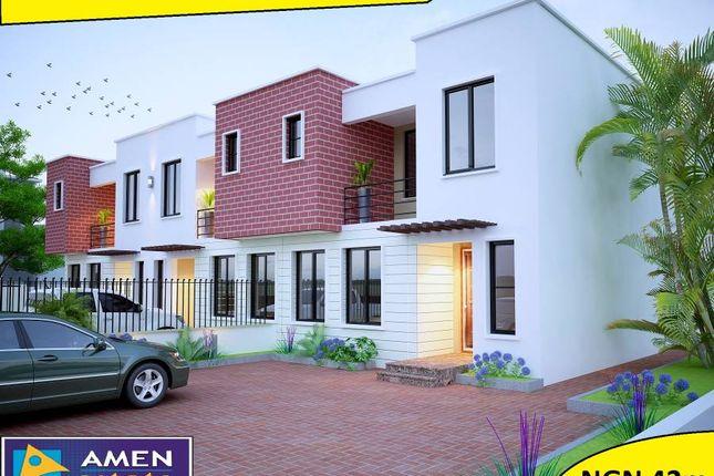 Thumbnail Terraced house for sale in Amen Estate Phase 2, Eleko Beach Road, Ajah, Ibeju Lekki, Lagos