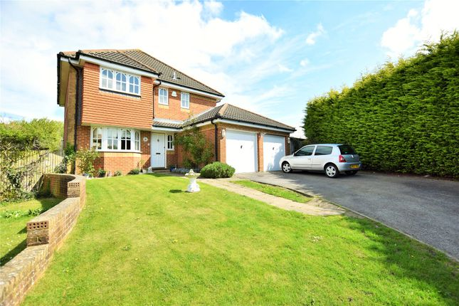 Thumbnail Detached house to rent in Rachaels Lake View, Warfield, Bracknell, Berkshire