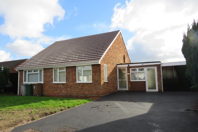 Thumbnail Bungalow to rent in Grenville Crescent, Bromborough, Wirral