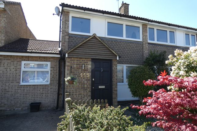Thumbnail End terrace house for sale in Rectory Grove, Hampton