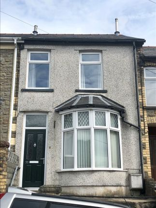 Thumbnail Terraced house for sale in Bryngwyn Road, Six Bells, Abertillery, Gwent
