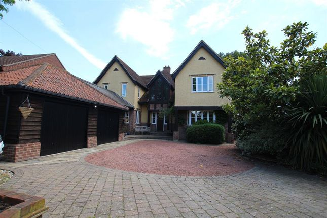 Thumbnail Detached house for sale in The Folly, Colchester Road, St. Osyth, Clacton-On-Sea