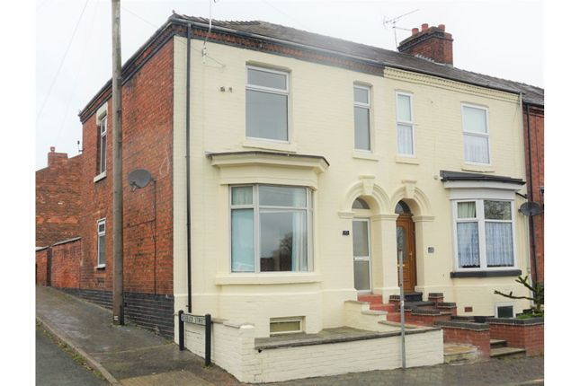3 bed end terrace house for sale in Broad Street, Crewe CW1