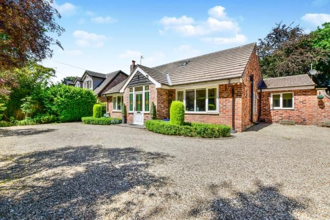 Thumbnail Bungalow for sale in Shay Lane, Hale Barns, Altrincham, Greater Manchester