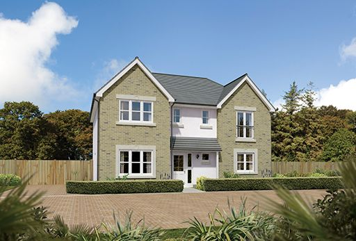 "Thumbnail Detached house for sale in ""Laurieston"" at Hunter Street, Auchterarder"