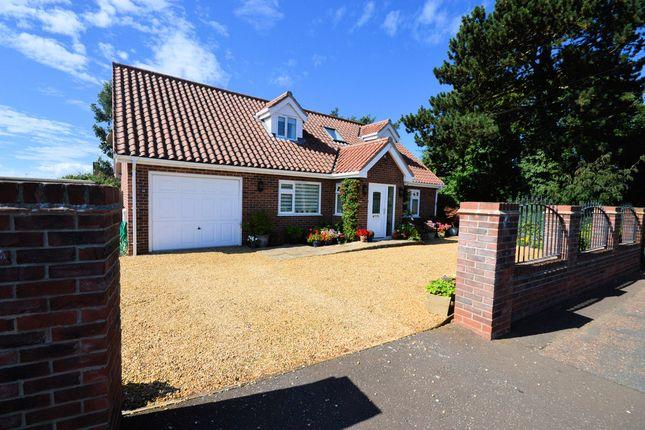 Thumbnail Detached bungalow for sale in Sandringham Road, Hunstanton