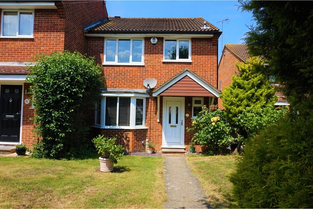Thumbnail End terrace house for sale in Glendale, Swanley
