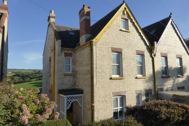 Thumbnail Semi-detached house for sale in Chambercombe Park Road, Ilfracombe