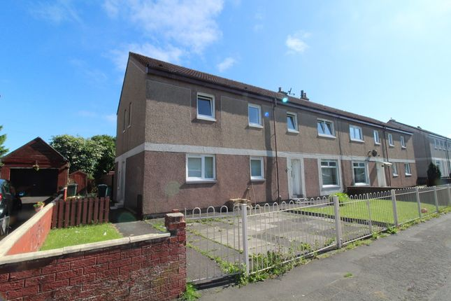 Thumbnail Flat to rent in Abernethyn Road, Wishaw, North Lanarkshire