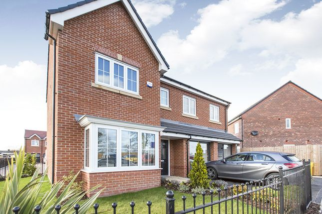 Thumbnail Detached house for sale in Jack Lane, Moulton, Northwich
