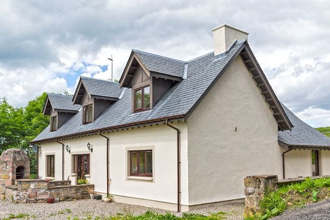 Thumbnail Detached house for sale in Upper Dochcarty, Dingwall, Highland