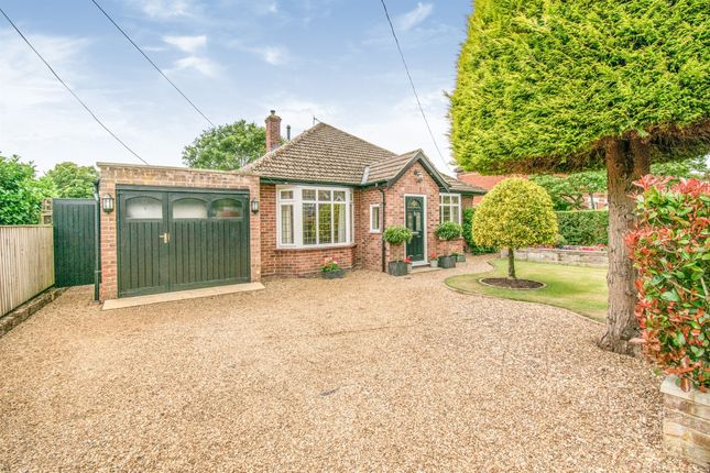Thumbnail Detached bungalow for sale in Garden Road, Blofield, Norwich
