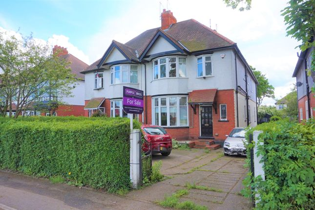 Thumbnail Semi-detached house for sale in Anlaby Road, Hull