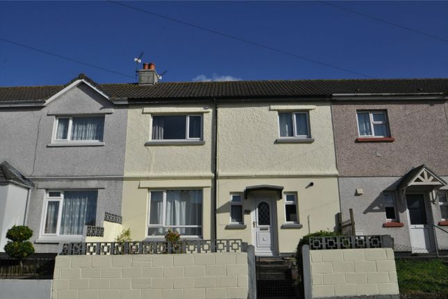 Thumbnail Terraced house to rent in Tresillian Road, Falmouth
