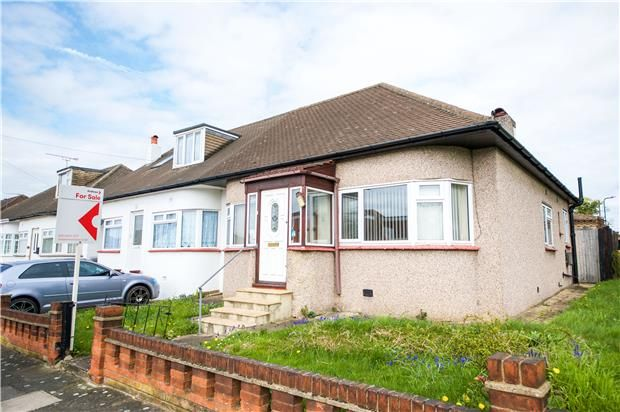 Thumbnail Semi-detached bungalow for sale in Hillway, Kingsbury