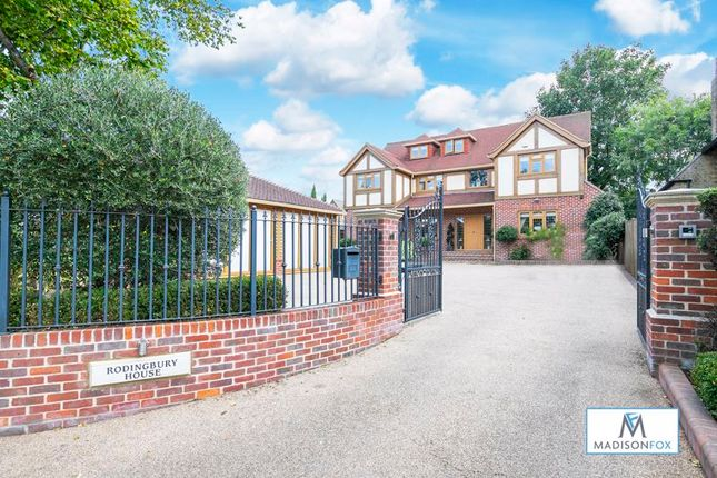 Thumbnail Detached house for sale in The Chestnuts, Ongar Road, Abridge, Romford