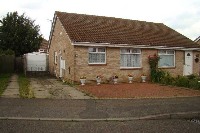 Thumbnail Semi-detached bungalow to rent in Kingston Crescent, Chatham