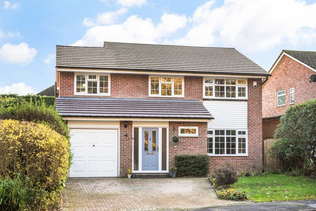 Thumbnail Detached house for sale in Haven Gardens, Crawley Down, Crawley