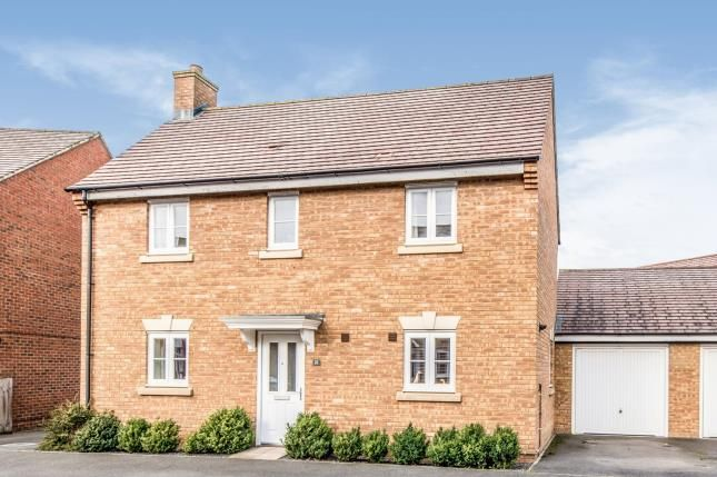 Thumbnail Detached house for sale in Swan Road, Wixams, Bedford, Bedfordshire