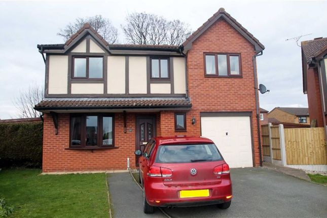 Thumbnail Detached house to rent in Croxon Rise, Oswestry, Shropshire