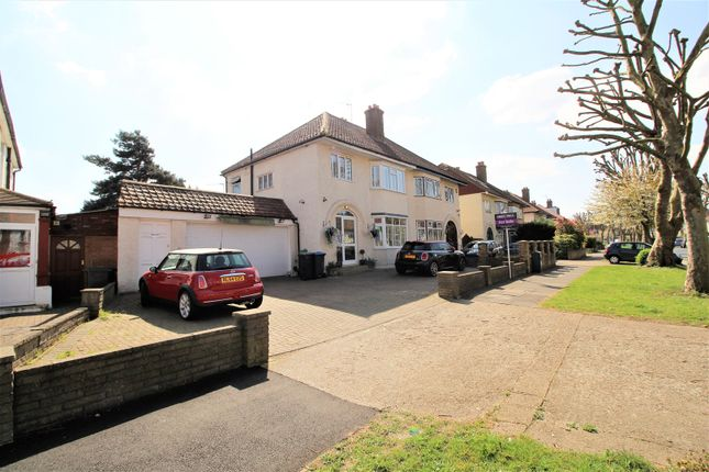 Thumbnail Semi-detached house for sale in Elgar Avenue, Surbiton