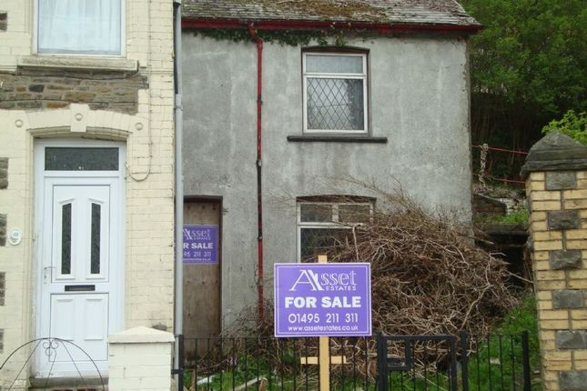 Terraced house for sale in Aberbeeg Road, Abertillery