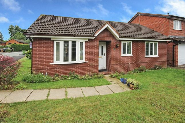 Thumbnail Bungalow for sale in The Paddocks, Yarnfield, Stone