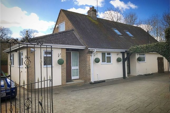 Thumbnail Detached bungalow for sale in Studfall Avenue, Corby, Northamptonshire