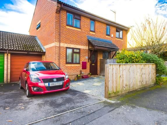 Thumbnail Semi-detached house for sale in Upton, Poole, Dorset